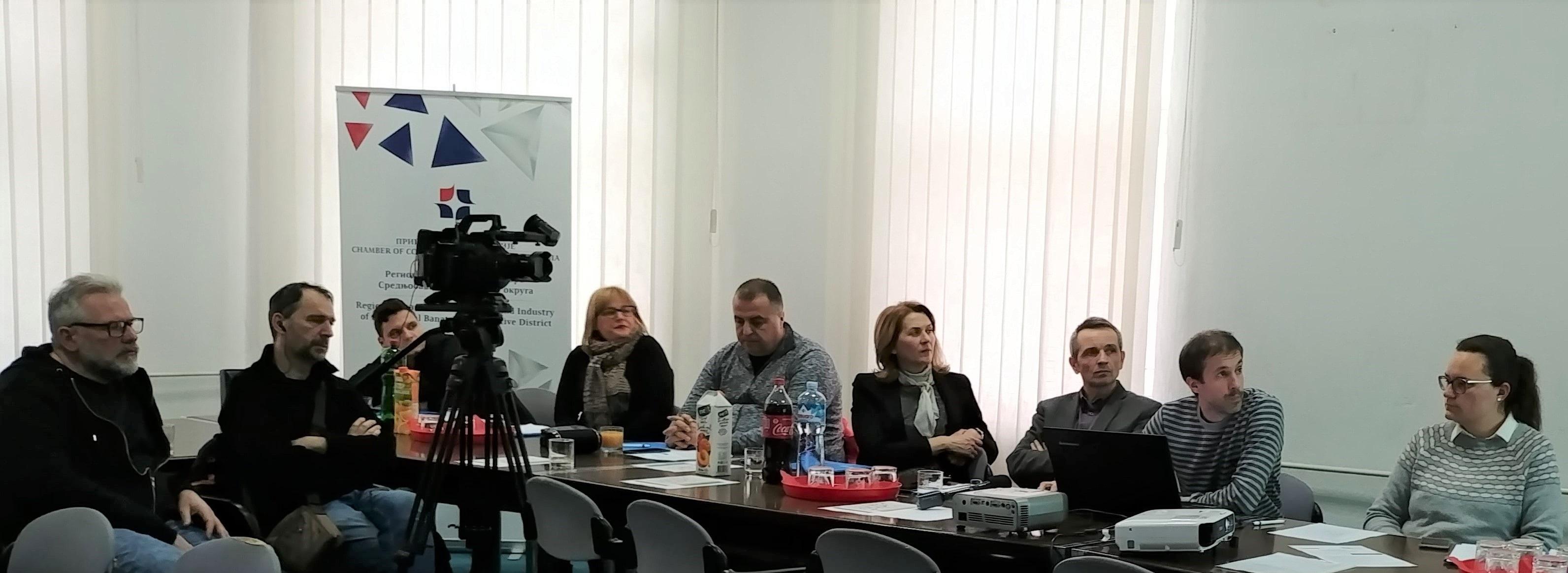 Učesnici konferencije Digitalizacija u poljoprivredi Zrenjanin